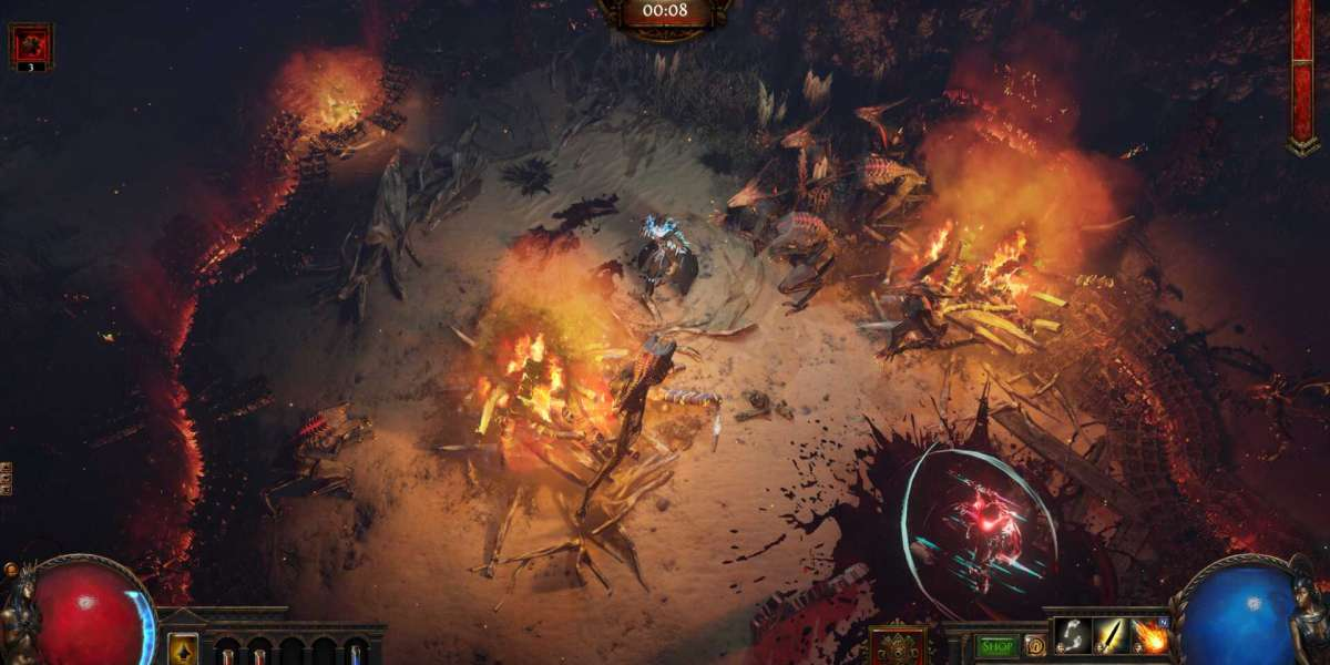 Path of Exile Scourge has been released on consoles today